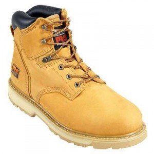 """Timberland PRO Men's Pitboss 6"""" Steel-Toe Boot - Breathable Work Boot"""