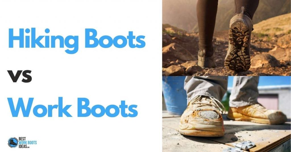 Hiking boots vs work boots featured image